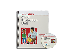 Second Step Child Protection Unit Kindergarten Lesson Notebook + Staff Training