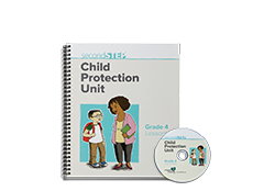 Second Step Child Protection Unit Grade 4 Lesson Notebook + Staff Training