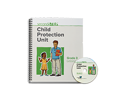 Second Step Child Protection Unit Grade 3 Lesson Notebook + Staff Training