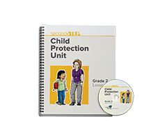 Second Step Child Protection Unit Grade 2 Lesson Notebook + Staff Training