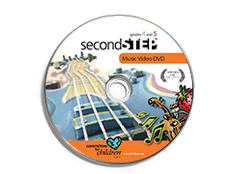 Second Step Music Video DVD for Grades 4 and 5