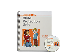 Second Step Child Protection Unit Grade 1 Lesson Notebook + Staff Training