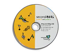 Second Step Grades 2 and 3 Sing and Step CD