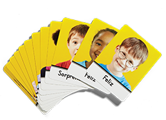 Spanish Second Step Early Learning Feelings Cards