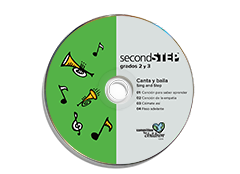 Second Step Spanish Grades 2 and 3 Sing and Step CD