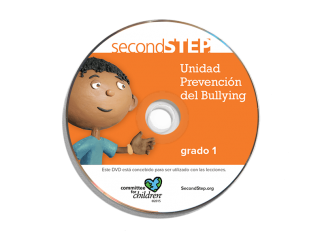 bullying prevention unit grade 1 spanish dvd
