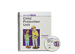 Second Step Child Protection Unit Grade 5 Lesson Notebook + Staff Training