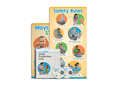 child protection unit early learning kit
