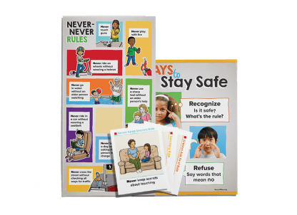 child protection unit grade 1-grade 3 poster and card pack