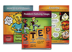 Second Step K–5 Large Hallway Poster Set