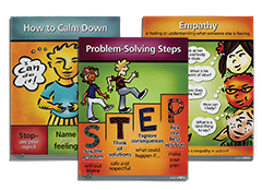 Second Step Grades 4 and 5 Poster Set
