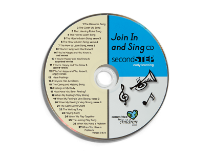 second step early learning join in and sing cd