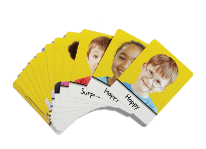 second step early learning feeling cards