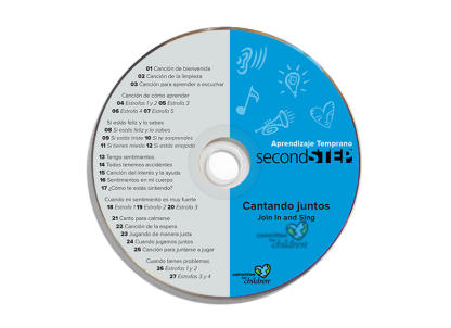 second step early learning spanish join in and sing cd