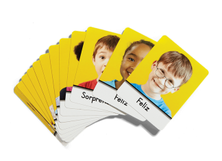 second step spanish feeling cards