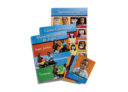 second step early learning spanish poster and card pack