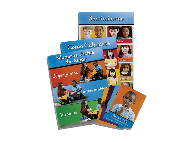 Spanish Early Learning Poster and Card Pack