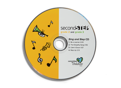 second step grade 2-grade 3 sing and step cd