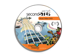 second step grade 4-grade 5 music video dvd