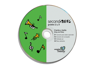 second step grade 2-grade 3 spanish sing and step cd